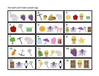 CRACK the Code: a center activity for beginning sounds and