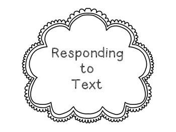 CRAFT Responding to text strategies