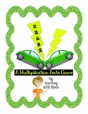 CRASH: A Multiplication Facts Game