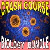 CRASH COURSE BIOLOGY - BUNDLE SET (Full Science Series 40 Video Worksheets)
