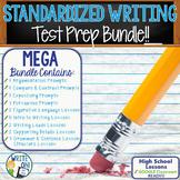 Standardized Writing Test Preparation Bundle | High School | Print and Digital