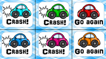 CRASH! CVCe Words Game