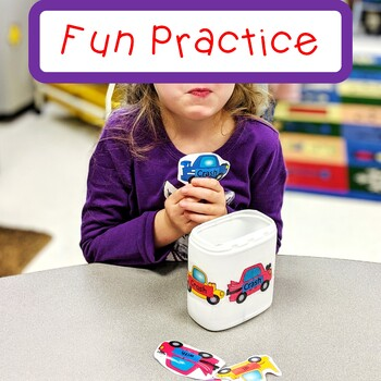 Sight Word Practice Crash Game