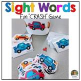 Sight Word Game Car Theme