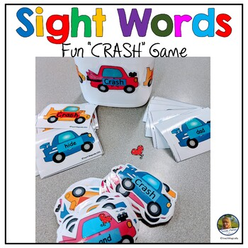 Sight Word Practice! Crash!