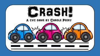 CRASH! CVC Word Games