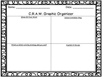 CRAW Graphic Organizer