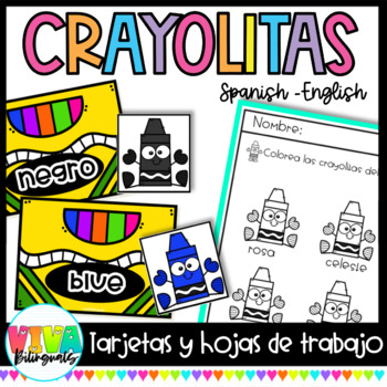 CRAYOLITAS (Cards in Spanish)