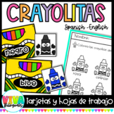 CRAYOLITAS (Cards in Spanish)