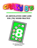 CRAZY 8'S ARTICULATION CARD GAME for /TH/ - Speech Therapy