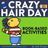 CRAZY HAIR DAY Activities Worksheets and Interactive Read