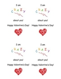 CRAZY about you Valentines!