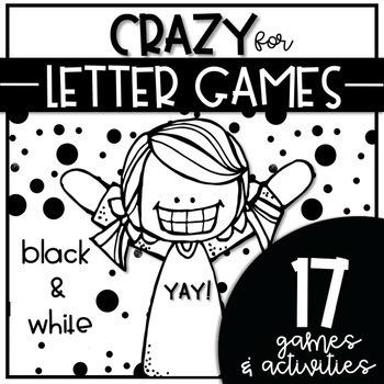 CRAZY for LETTER GAMES BUNDLE {Letter Recognition & Fluency}