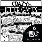 CRAZY for LETTER GAMES SET 2 {Write the Room Letter Recognition Activities}