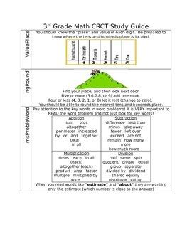 3rd Grade Math Study Guide