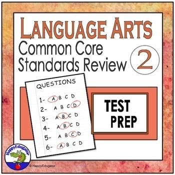 TEST PREP ELA Standards Review #2 Interactive PowerPoint