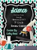 5th Grade Science Georgia Milestones Test Prep & Year Round Review Quizzes