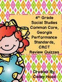 4th Grade Social Studies GA GA Milestones, CC Review Quizz