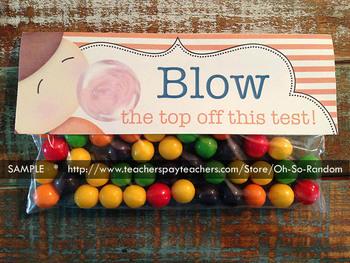 Testing Reward Baggie Topper (Bubble Gum)   GMAS