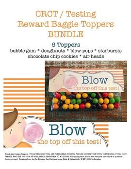 Testing Reward Baggie Toppers BUNDLE | GMAS