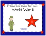 World War II Review Task Cards