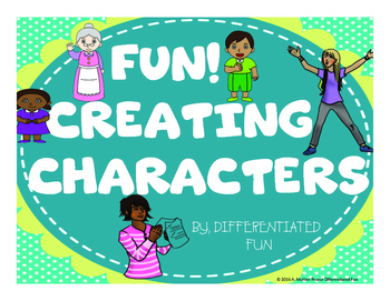 CREATE CHARACTERS FOR A COMIC STRIP
