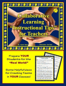 """COLLABORATIVE LEARNING TEAMS - """"Instructional TIPS for TEACHERS"""""""
