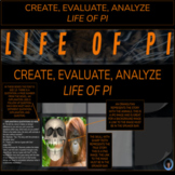 END OF NOVEL PROJECT LIFE OF PI   CREATE, EVALUATE, ANALYZE   END OF THE YEAR