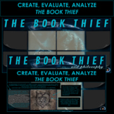 END OF NOVEL PROJECT THE BOOK THIEF   CREATE, EVALUATE, ANALYZE