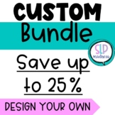 CREATE YOUR OWN CUSTOM BUNDLE SPEECH THERAPY