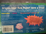 CREATE YOUR OWN PAPER SAVE A TREE   ISBN 0-8167-5633-3