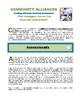 "COMMUNITY ALLIANCES - ""Creating Effective Advisory Committees"""