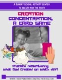 The Days of Creation, a concentration game