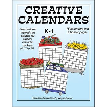 CREATIVE CALENDARS Gr. K-1