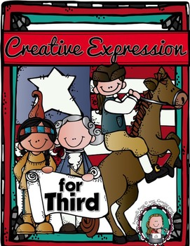 A YEAR of CREATIVE EXPRESSION for THIRD {Homeschool Edition}