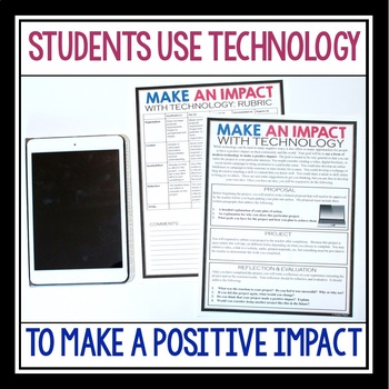 CREATIVE PROJECT: MAKE AN IMPACT WITH TECHNOLOGY