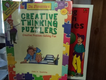 CREATIVE THINK PUZZLERS,THINKING THRU ANALOG  (set 2)