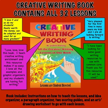 CREATIVE WRITING BOOK By Judith Darling