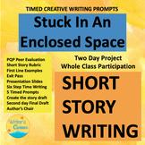 Enclosed Space, Short Story Writing, Creative Writing, CCSS, Sub Plan, PQP