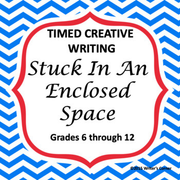 Enclosed Space, Short Story Writing, Creative Writing, CCSS, Sub Plan, PQP
