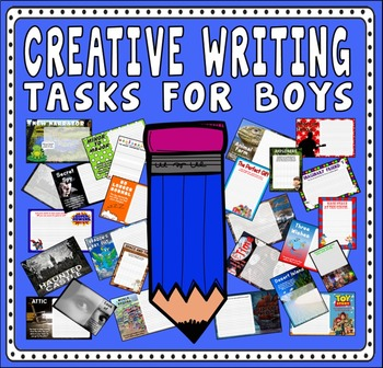 CREATIVE WRITING FOR BOYS TEACHING RESOURCES ENGLISH LITERACY KEY STAGE 2