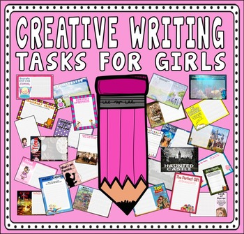 CREATIVE WRITING FOR GIRLS TEACHING RESOURCES ENGLISH LITERACY KEY STAGE 2