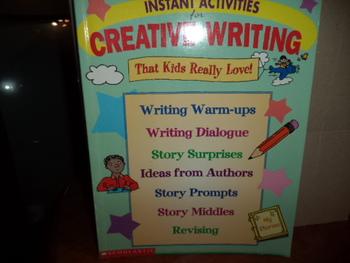 CREATIVE WRITING           ISBN 0-590-36509-6