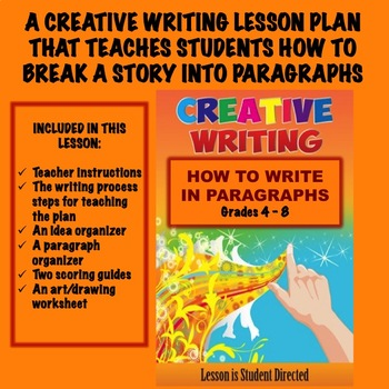 Creative Writing Lesson Plan - How To Write In Paragraphs