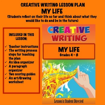 Creative Writing Lesson Plan - MY LIFE