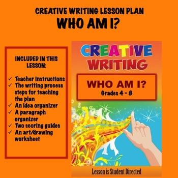 Creative Writing Lesson Plan - WHO AM I??