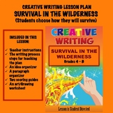 Creative Writing Lesson Plan - Survival in the Wilderness