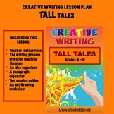 Creative Writing Lesson Plan - TALL Tales