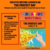Creative Writing Lesson Plan - THE PERFECT DAY