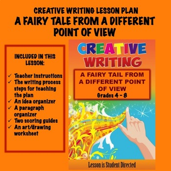 Creative Writing Lesson Plan - A Fairytale From a Different Point of View
